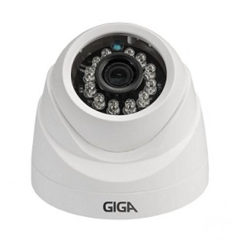Câmera Giga Gs0012 Dome Open Hd Plus 720p Ir 20m 2.6mm