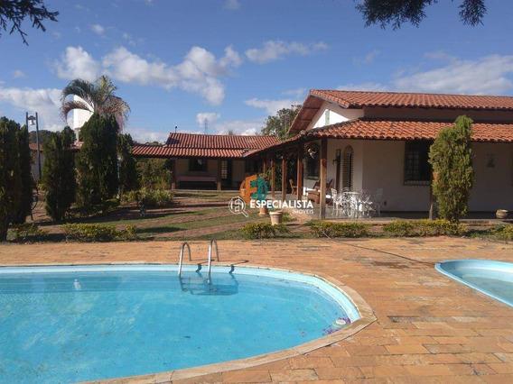 Chácara/fazenda 50.000 M² Por R$ 2.500.000 - Córrego Frio - Santa Luzia/mg - Ch0002
