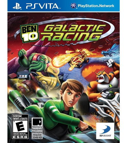 Ben 10 Galactic Racing Ps Vita Midia Fisica