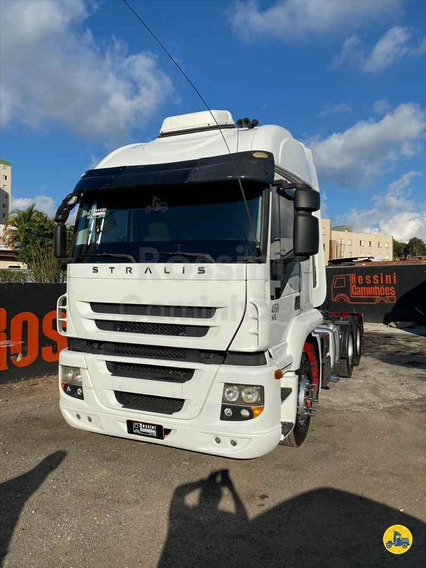 Iveco Stralis 460 2011 6x2 Automatico N Mb 2540 1634 1938