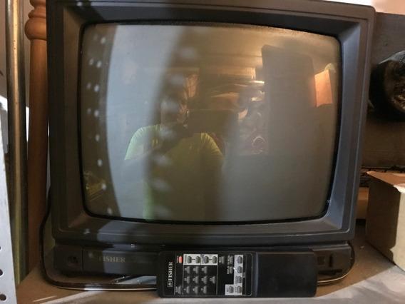 Televisor Pequeño Culon Convencional Control Remoto Fisher
