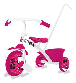 Triciclo Infantil Reforzado Zaki Con Barra Empuje Babymovil
