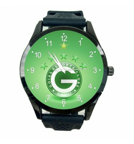Relógio Goias Unissex Esporte Clube Futebol De Pulso Fc T666