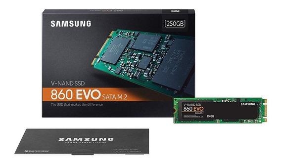 Ssd M.2 Samsung 250gb 860 Evo Sata M.2 Lacrado