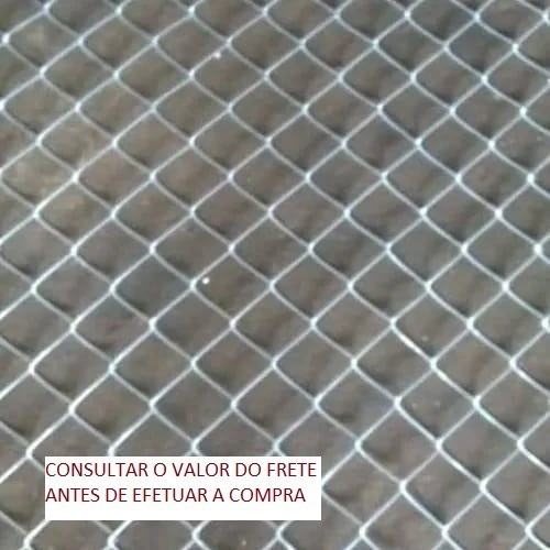 Tela Alambrado Fio 12 Malha 3 1/2 Frete Grátis Para Sp E Pr