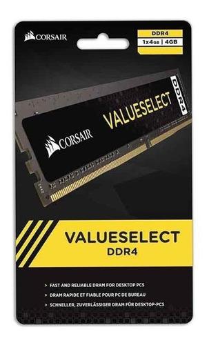 Memória RAM Value Select 4GB 1x4GB Corsair CMSO4GX4M1A2133C15