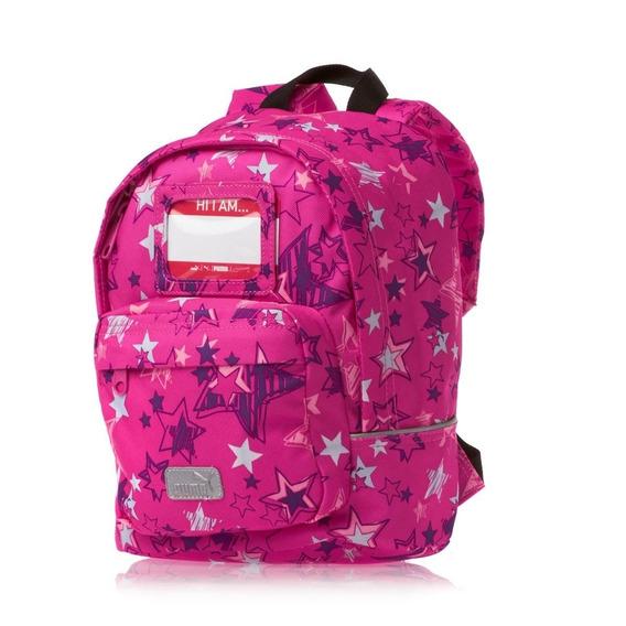 Mochila Puma Niña Rosa Primary Backpack 07057602