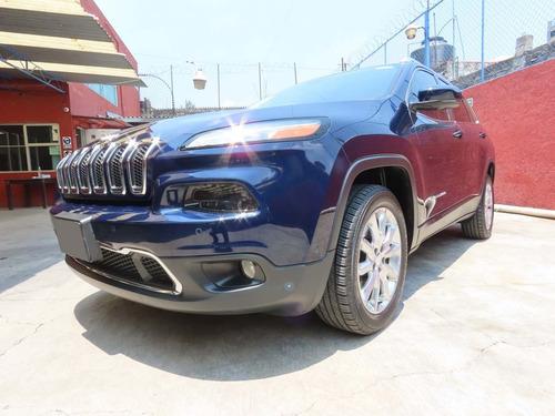Imagen 1 de 11 de Jeep Cherokee Limited 2016 Azul