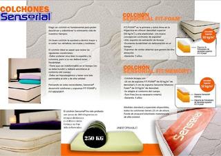 Colchón Con Viscoelastico Sensorial 160 X 200