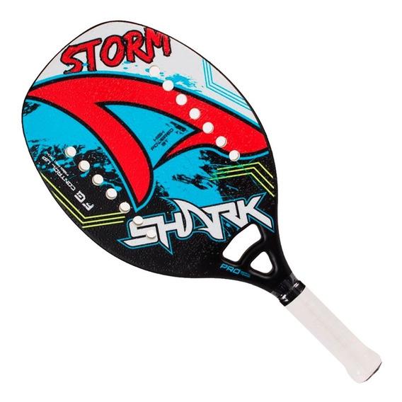 Raquete De Beach Tennis Shark Storm 50 - 2019