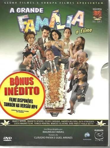 Dvd A Grande Família: O Filme Duplo Digipack