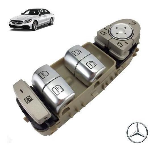 Tecla De Vidro Mecedes Benz C180 C200 C250 C300 C400 C450 63