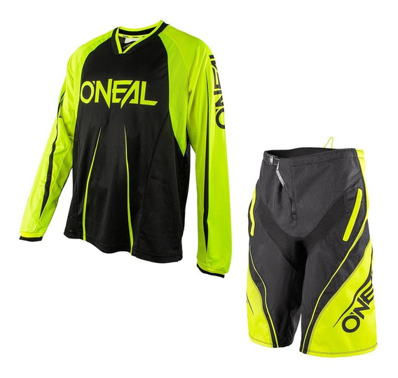 Conjunto Mtb O´neal Element Jersey + Short Fr Long Sleeve
