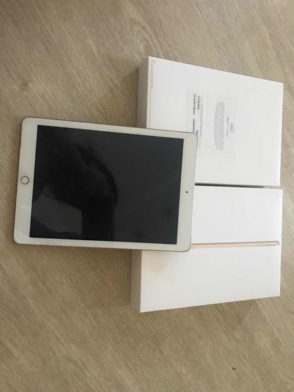 iPad Geração 5 128 Gb Wi-fi E 4g Dourado