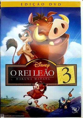 Dvd O Rei Leão 3 | Mercado Livre
