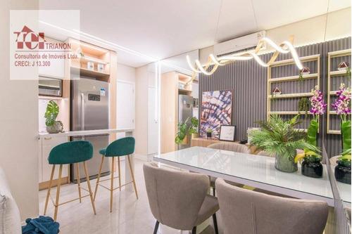 Apartamento Com 2 Dormitórios À Venda, 48 M² Por R$ 303.906,68 - Vila João Basso - São Bernardo Do Campo/sp - Ap2747