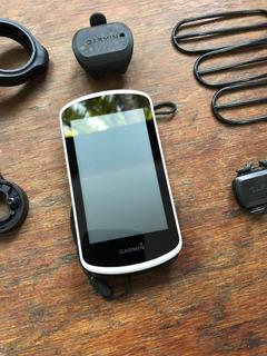 Garmin Edge 1030 + Sensores E Suporte De Guidão Original