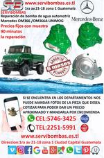 Bomba De Agua Mercedes 366 Unimog Mexicano En Guatemala