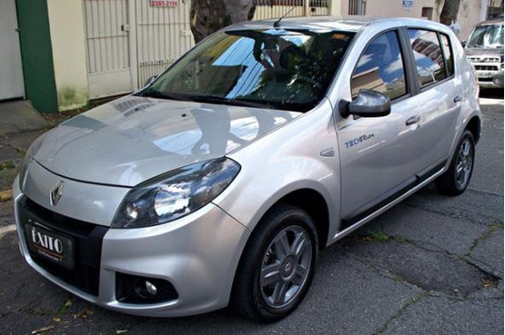Renault Sandero Techrun Hi-flex Manual 2014 Prata