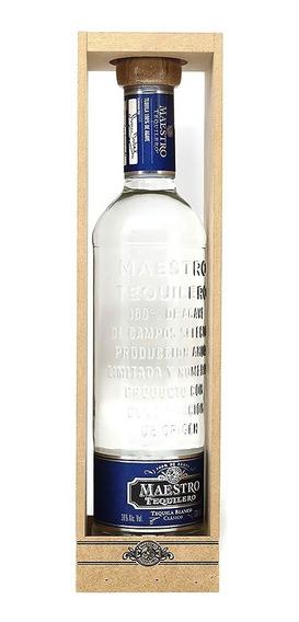 Tequila Maestro Tequilero Blanco 750 Ml Oferta Especial
