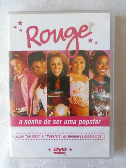 Dvd Rouge O Sonho De Ser Uma Popstar 2002 Sbt