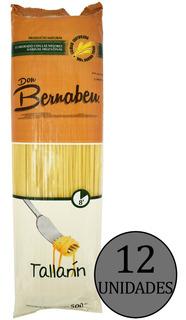 Fideos Tallarines Don Bernabeu Pasta Seca X500gr Caja X12