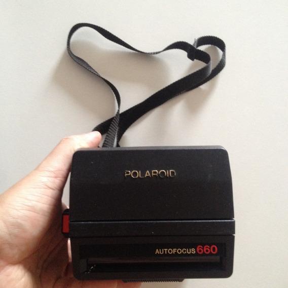 Câmera Polaroid Autofocus 660 - Usada