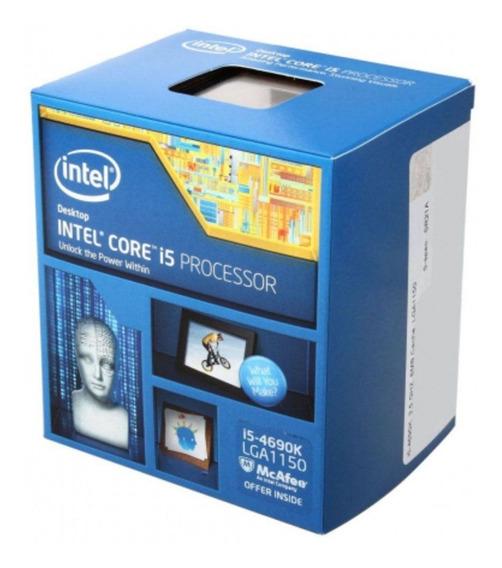 Processador Intel Core I5-4690k 3.5ghz Lga1150 6mb S/cooler
