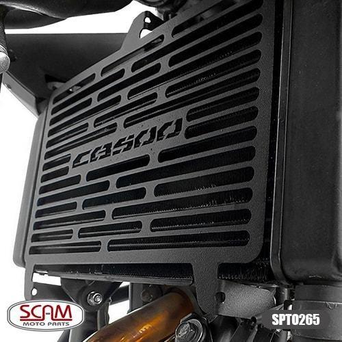 Protetor Radiador Honda Cbr500r 2016+ Spto265 Scam