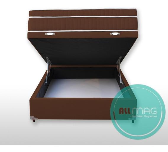 Base Box Solteiro Baú 0,88x1,88 (não Acompanha O Colchão)