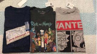 Camisetas Rick And Morty Talla Small