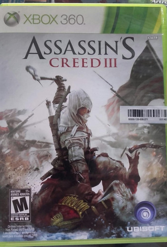 Assassins Creed 3 Xbox 360 Lenny Star Games