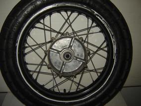 Roda Traseira Moto Yamaha Xt 660 Original Usada Com Pneu