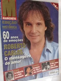 Revista Manchete-n 2521-ed Historica-60 Anos Roberto Carlos