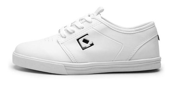 Tênis Qix Skate Combat Branco Original Masculino Feminino