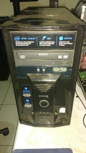 Computador Intel Hd 160 Gb Memória 2 Gb Expansível 4 Gb