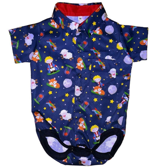 Roupa De Bebe Body Infantil Menino Camisa Social