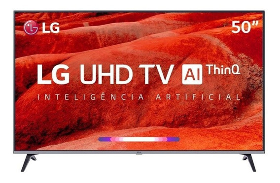 Smart Tv Led 50 Lg Um7510 Ultra Hd 4k Hdr Ativo Dts Virtual