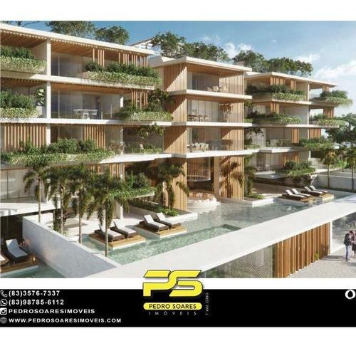 Apartamento Com 2 Dormitórios À Venda, 108 M² Partir De R$ 1.154.914 - Cabo Branco - João Pessoa/pb - Ap4963