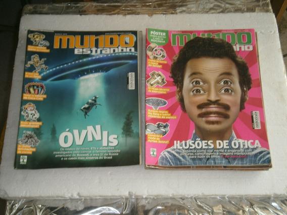 29 Revistas Mundo Estranhjo Por R$ 45,00