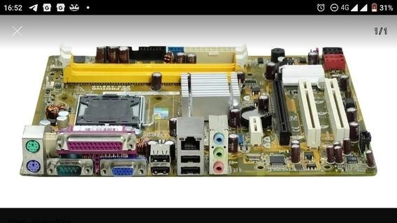 Placa Mãe Ag31 Ap Placa Mãe Positivo +processador E7400.