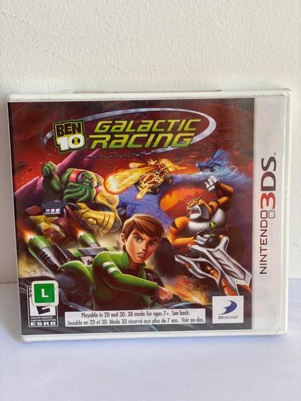 Ben 10 Galactic Racing Nitendo 3ds-novov-lacrado