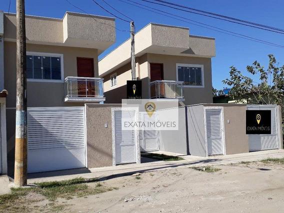 Lançamento! Casas Duplex No Chácara Marilea Para 2020! - Ca0976