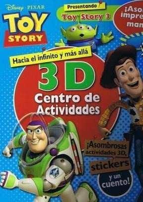 Libro - Toy Story Hacia El Infinito Y Mas Alla 3d Centro De