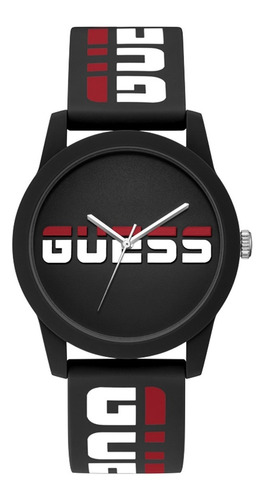 Reloj Para Hombre Guess Rally Color Negro Gw0266g1