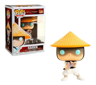 Funko Pop Raiden Mortal Kombat # 538 * Local Balvanera