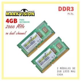 Memória Notebook Amazon 4gb Ddr3 2x2gb 1333mhz Pc3-10600