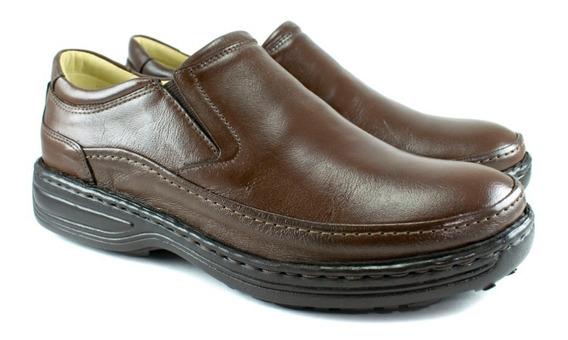 Sapato Masculino Anti Stress Ortopédico Diabéticos Ref 7220