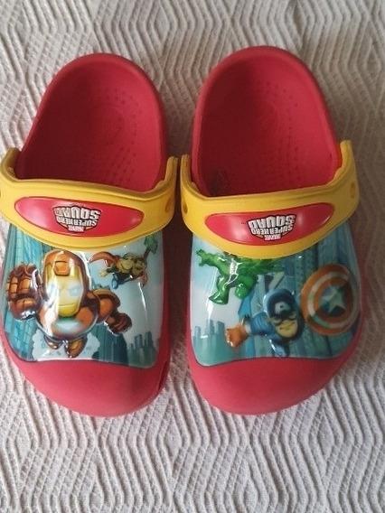 Crocs Originales Avengers Importadas + Crocs Extra De Regalo