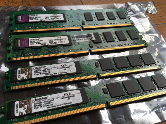 Memoria Kingston 2gb Ddr2 800mhz Kvr800d2n62g Recoleta
